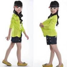 Free Shipping 2013 New Style Fashion Children 10 Colors Candy Sweatshirts Casual Jersey Hoody K0479(China (Mainland))