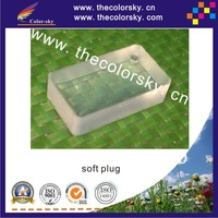 (SSZF) very soft silicon seal pad for HP Canon Lexmark ink cartridges with printhead touch seal free shipping by dhl