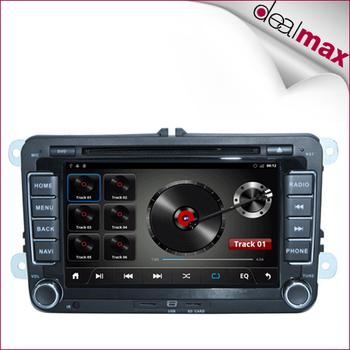 Android  car gps dvd player for Volkswagen Golf/Jetta/Passat/Bora/Touran/Tiguan/Skoda/lavida/lupo/Polo/newbeetle free shipping