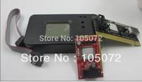 Universal   MiniPCIe, MiniPCI ,LPC, PCI diagnostic post tester debug card  For Laptop and  Desktop