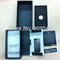 20pcs/lot EU,US,UK version Black /white PACKING BOX for iPhone 5g 5s  USER GUIDE MANUAL +Free shipping