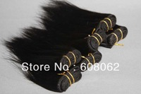 HOT SELLING! 6inch  100% brazilian virgin hair extensions brazilian hair silk straight  25g/pc   1pc/lot