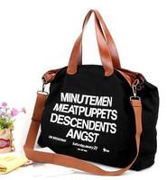 hot sale tote bag casual canvas big bag fashion ladies should bag handbag W1236