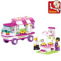 Free shipping Sluban Building Block Set  Toys Educational Block toy for Children1006 Kids birthday gift
