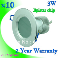 3w led downlights kits 85-265V led ceiling down lamps recessed for indoor home