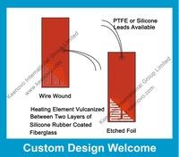 Keenovo Custom Designed & Manufactured Flexible Silicone Heater, 12V,24V,48V,110V,120V,220V,230V,240V,380V Free Shipping