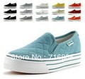 Free Shipping 2013 fashion brand men / women canvas shoes, platform sneakers, sport shoes women Y30023