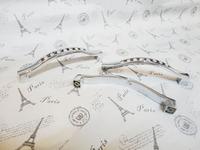 Crystal Handles Kitchen Cabinet Knobs Zinc Alloy Drawer Pulls (C.C.:96mm,Length:105mm)