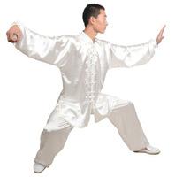 Tai chi  wear martial arts uniform performance clothing High elastic emulation silk multicolor free shipping