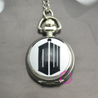 Coupon for wholesale price good quality new fashion cartoon Doctor Who DW Fashion Pocket Watch Necklace Child Man Woman Boy hour