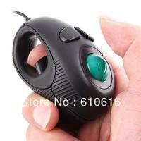 NEW Portable Finger Hand Held 4D Usb Mini Trackball Mouse