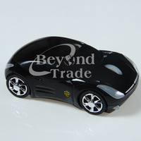 1200DPI 2.4GHz Wireless Black Car USB Optical Mouse Mice for Laptop PC Receive Free Shipping