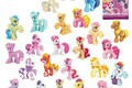 My little pony Loose Action Figures toy Free shipping 4-6CM