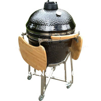 23inch Big ceramic pressure barbeque cooker, big smokers, bbq charcoal grill