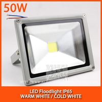 Wholesale 5PCS LED Floodlight high power led floodlight IP65 AC85-265V 50W Free shipping