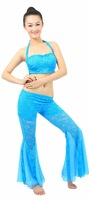 beautiful belly dance wear sexy bra+fashionable pants 8 colors willyoung