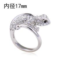 Retail, wholesale fashion jewelry gecko ring  2849-53
