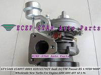 GT1544S 454097-5002S 454097-0001 028145702 454097 Turbo Turbocharger For Audi A4 VW Passat B5 1.9L TDI 90HP AHH AHU AFF 1Z 1.9L