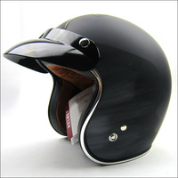 TORC 3/4 OPEN FACE RETRO VINTAGE MOTORCYCLE SCOOTER HELMET LUCKY13