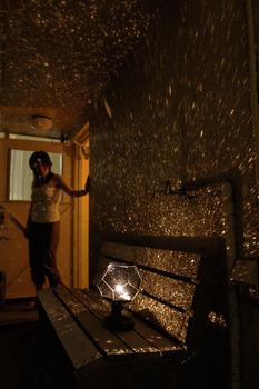 Home Planetarium Star Master Projector Romantic Light Lamp Japan Gakken Vol.9 DIY projection night sky