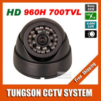 Best Prices HD Sony CCD 960H Effio 700TVL Video Surveillance Night Vision Infrared LED Indoor Dome Home Security CCTV Camera