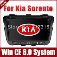 "8"" 2-Din Head Unit Car DVD Player GPS Navigation for Kia Sorento 2013 with Navigation Radio Bluetooth TV USB AUX Map Auto Audio"