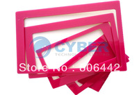 Holiday Sale 5sets/Lot New 3D Acrylic Wall Stick Photo Combination Home Room Decor Frame Sticker Red Free Shipping 4712