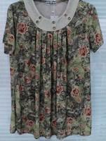 lady's blouse  t-shirt in women  short Sleeve  Loose Tops vest +t shirt big size clothes PLUS SIZE T Shirts