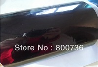 black glossy  chrome film 1.52x30M 60''X1181'' air free bubbles glossy chrome car stickers