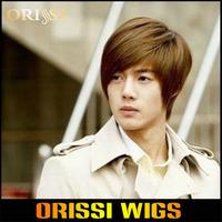 Wholesale Price High Temperature Synethetic Short Men Boy Wigs