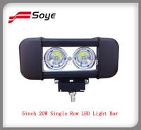 5inch 20W Off Road Led Light Bar Work Light Auto LED Lighting Bar