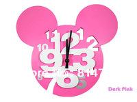 Cartoon 3D Numbers Wall Clock Gift