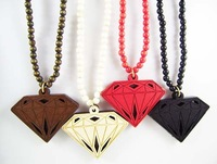 Hip Hop Style GOOD WOOD NYC Necklace simulated diamond Jewelry Best Gift MT-008