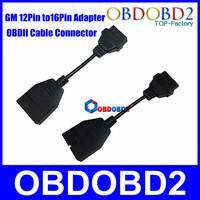 GM 12 Pin OBD OBD2 Diagnostic Cable GM 12Pin to OBD/OBD2 16Pin Adapter OBDII Cable Connector