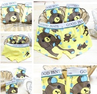 Free Shipping Wholesale baby briefs 12 pcs / lot    cotton child underwear
