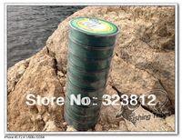 new 2014 PE  Wholesale - free shipping dyneema braided fishing line fishing tackle 1000M 8LB--80LB moss green