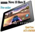 Free shipping In stock, Ainol NOVO 10 hero II hero quad core 10.1&quot; IPS android 4.1 1G/16GB Quad Core ACT ATM7029 1.5GHz and gift