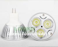10X MR16 3W 12V Pure/Warm White Down Light LED Bulbs High Quality HOT!!!