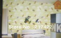 PVC wallpapers for Children' room Unicorn Cartoon Design