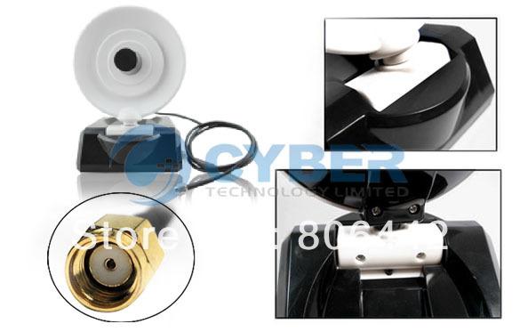 Dish Style High Gain 10dBi Indoor Parabolic Antenna Wireless WiFi Adapter 2.4G 802.11b/g Free Shipping 8861(China (Mainland))