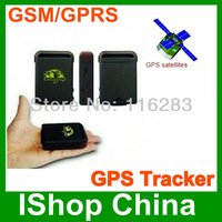 shenzhen mini Advanced GPS dog children locator TK 102, with waterproof bag, add hard wired car charger can use on car