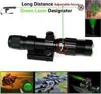 NITELION X-7 Long Distance Hunting Adjustable focus 200mW Green Laser flashlight Sight (Minus temperature using:-10~55 Celsius )