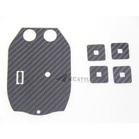 Parrot Ar Drone 2.0 BasePlate in Carbon Fiber Vinyl