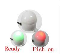NEW! 10Pcs Lot Night Fishing Rod Tip Clip on Fish Bite Alarm Alert Strike Light