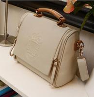 3/25 sale 2013 New Threeoperating Women's Handbag Preppy Style Vintage Handbag+ Messenger Bag +Fashion Female Shoulder Bag