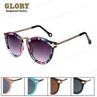 Hot Sale New Adult Oval Unisex 2014 Vintage Designer Brand Sunglasses Metal Retro Glasses Outdoors Coating Gafa De Sol free Ship