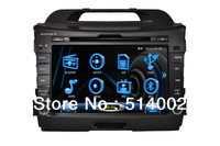 "8"" HD Car GPS with DVD  for KIA Sportage R with ipd TV USB virtual 8-cdc"