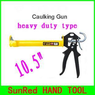 "SunRed BESTIR taiwan brand top quality open style 10.5"" heavy duty hand caulking gun caulking tool,NO.14504 wholesale freeship(China (Mainland))"