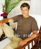 100% Cotton Crew Neck Casual Basic T-shirt  Style HIGH QUALITY Adult cotton t-shirt men & women's t shirt shirt 17 solid colors