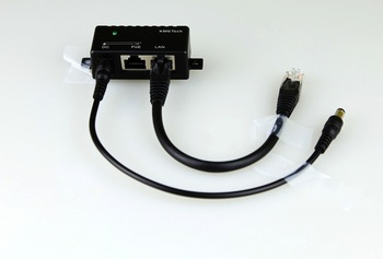 Free  shipping,!!  5pcs poe power supply module, poe Combiner, PSI-348sp (poe splitter attached DC cable + network jumper)